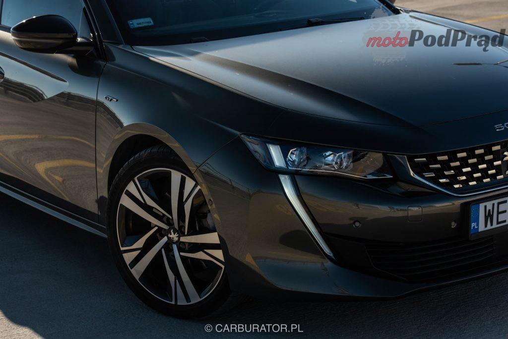 Peugeot 508 SW 3 1024x684 Test: Peugeot 508 SW GT   lwi diament w koronie