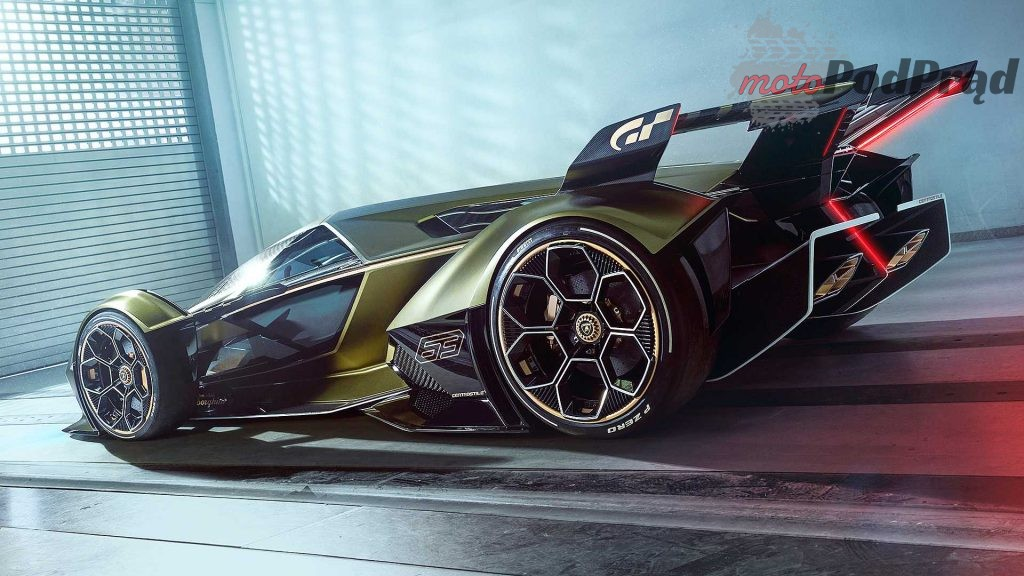 lambo v12 vision gran turismo 8 1024x576 Debiut Lamborghini V12 Vision w komputerowej grze