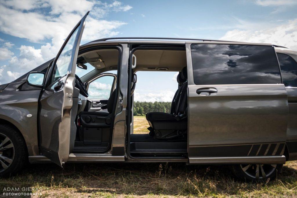 vito bok 1024x683 Test: Mercedes Vito Tourer 116 cdi   kompromis na dalekie trasy