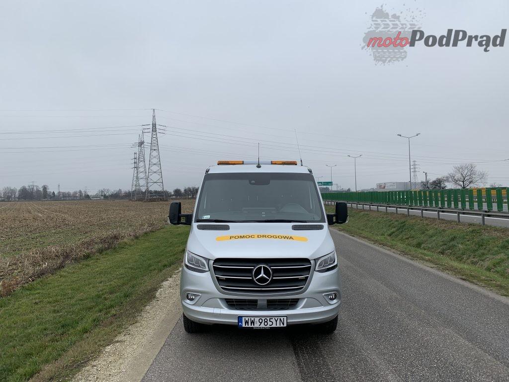 Mercedes Sprinter Laweta 1 1024x768 Test: Mercedes Sprinter – zabudowa lawety w formacie premium