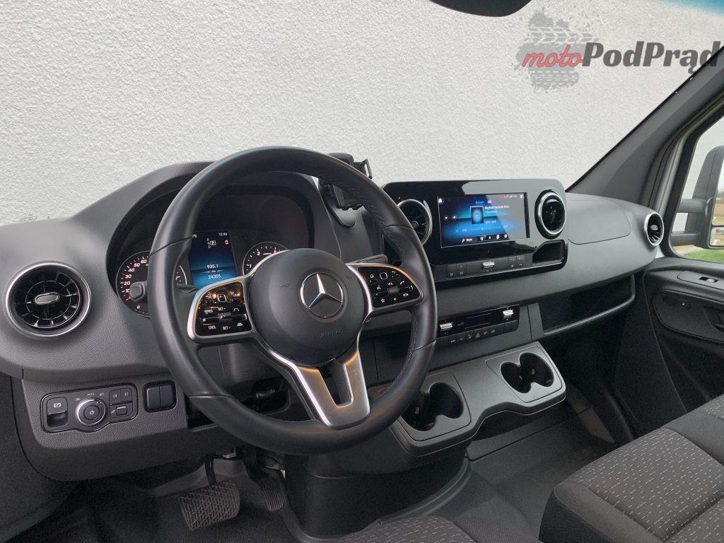 Mercedes Sprinter Laweta 28 1024x768 Test: Mercedes Sprinter – zabudowa lawety w formacie premium