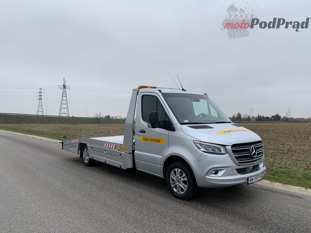 Mercedes Sprinter Laweta 3 1024x768 Test: Mercedes Sprinter – zabudowa lawety w formacie premium