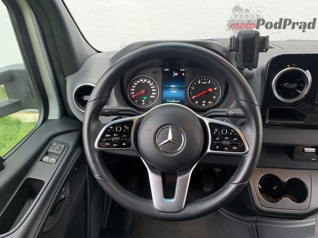 Mercedes Sprinter Laweta 30 1024x768 Test: Mercedes Sprinter – zabudowa lawety w formacie premium