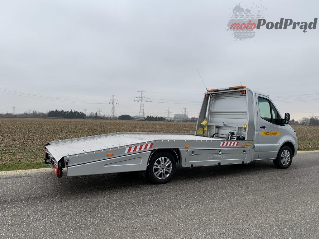 Mercedes Sprinter Laweta 5 1024x768 Test: Mercedes Sprinter – zabudowa lawety w formacie premium