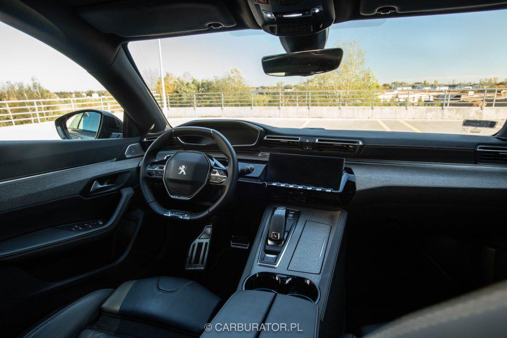 Peugeot 508 SW 25 1024x684 Test: Peugeot 508 SW GT   lwi diament w koronie