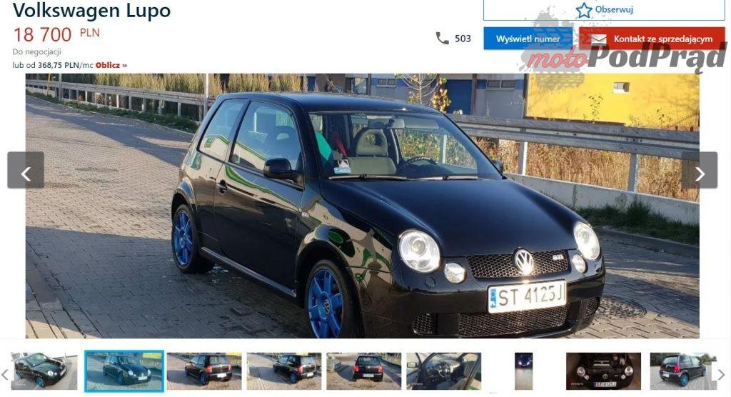 otomoto lupo 1024x556 Znalezione: VW Lupo GTI   mały, ale wariat