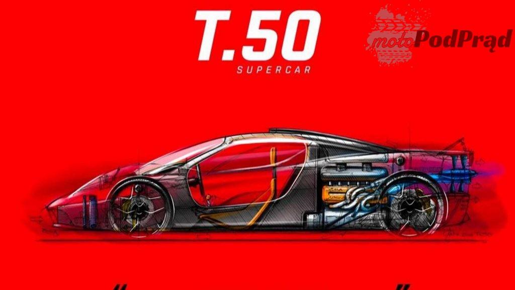 t 2 1024x576 T.50 Supercar to inżynieryjny majstersztyk