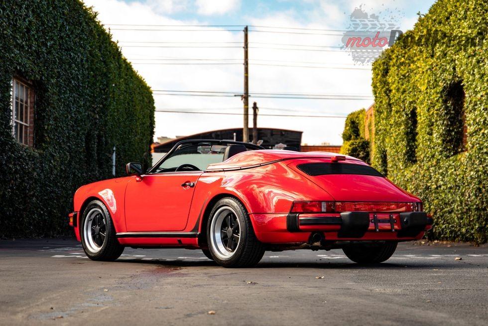 1989 porsche 911 speedster 1578077285cfcd2m8a4520 1579890046 Znalezione: Porsche 930 Speedster z przebiegiem 66 km