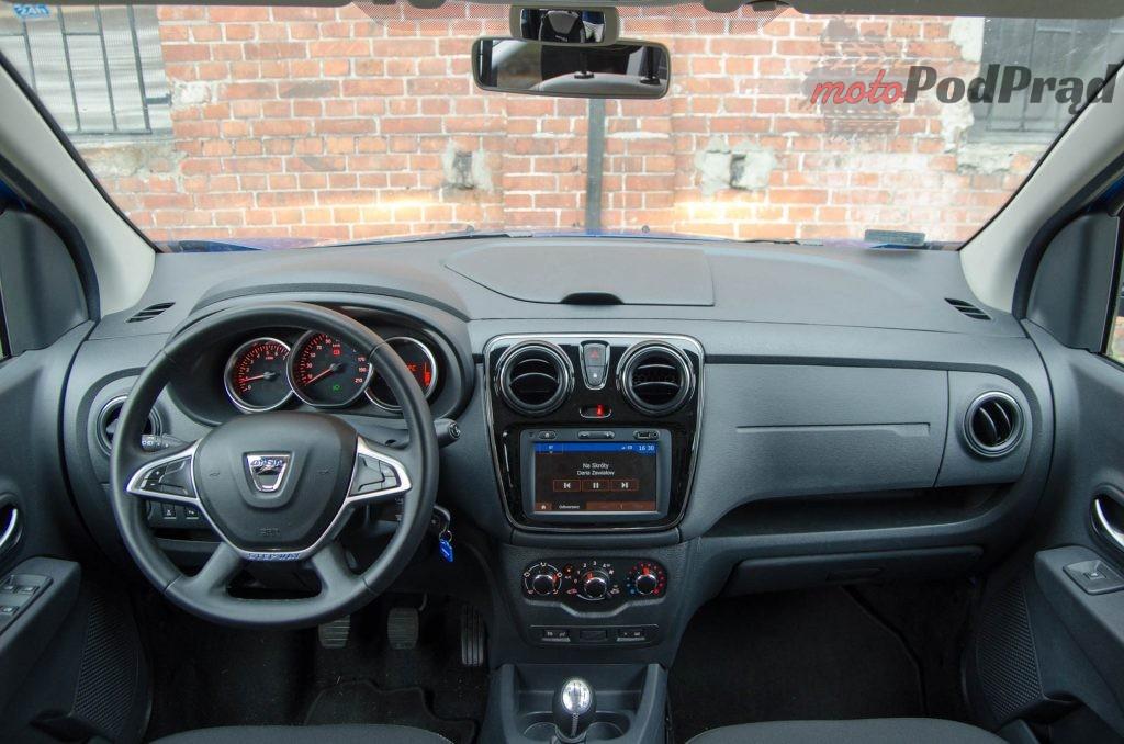 Dacia Lodgy 13 1024x678 Test: Dacia Lodgy Stepway   tania, ale spełniająca oczekiwania