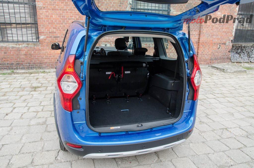 Dacia Lodgy 14 1024x678 Test: Dacia Lodgy Stepway   tania, ale spełniająca oczekiwania