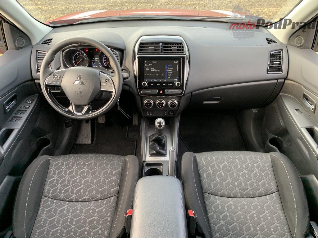 Mitsubishi ASX 33 1024x768 Test: Mitsubishi ASX   odświeżone, ale dla kogo?