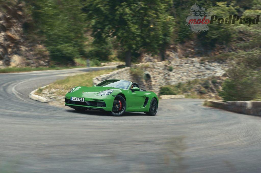 Porsche 718 GTS 40 6 1024x677 Porsche 718 GTS jednak z 6 cylindrowym silnikiem