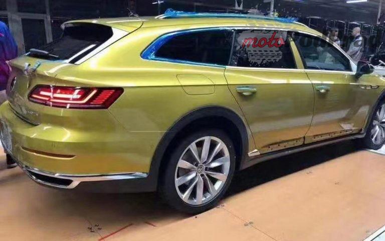 vw arteon shooting brake cc travel edition 2 1 768x480 Już niedługo będzie Volkswagen Arteon kombi?