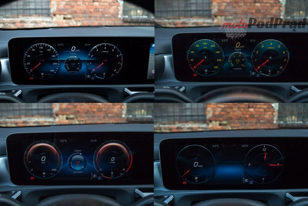 zegary 1024x685 Test: Mercedes Benz CLA 220 4Matic   na temat premium słów kilka