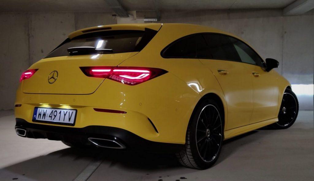 2 2 scaled e1584965128127 1024x591 Test: Mercedes CLA Shooting Brake   kombi inaczej