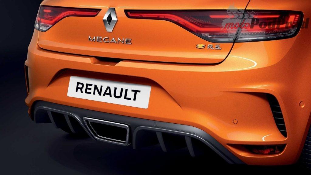 2020 renault megane rs facelift 1024x576 Renault Megane przeszło facelifting i możesz je mieć jako plug in hybrid