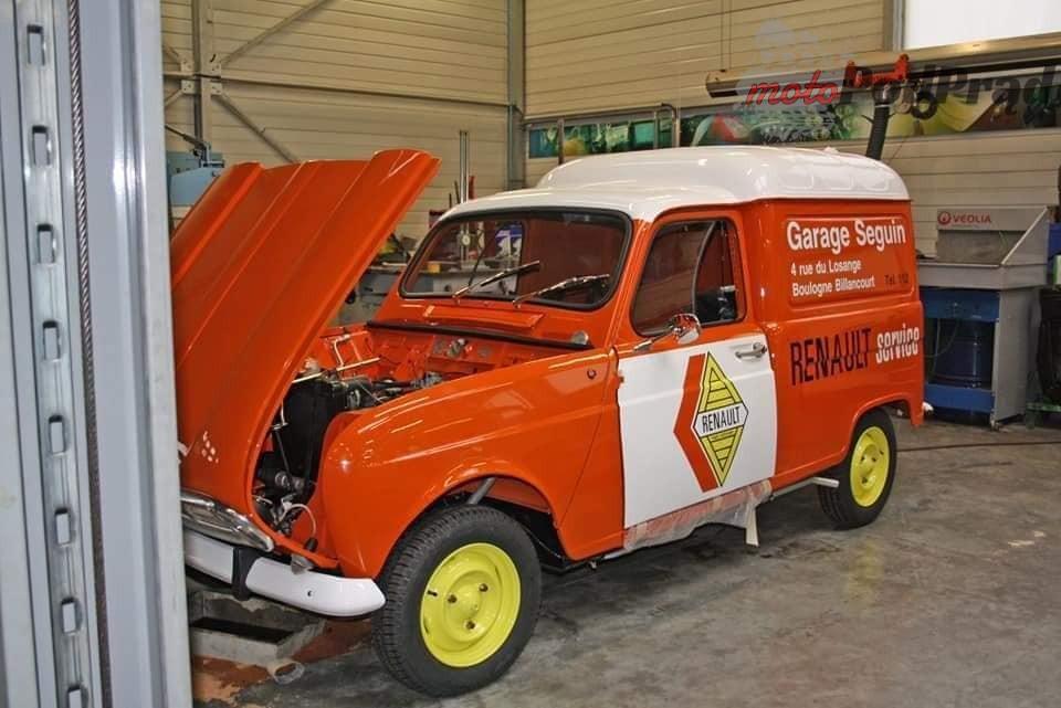 9 4 Tajemniczy garaż zabytkowych Renault