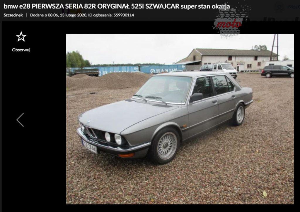 Przechwytywanie 1 1024x726 Fura na weekend   BMW serii 5 E28