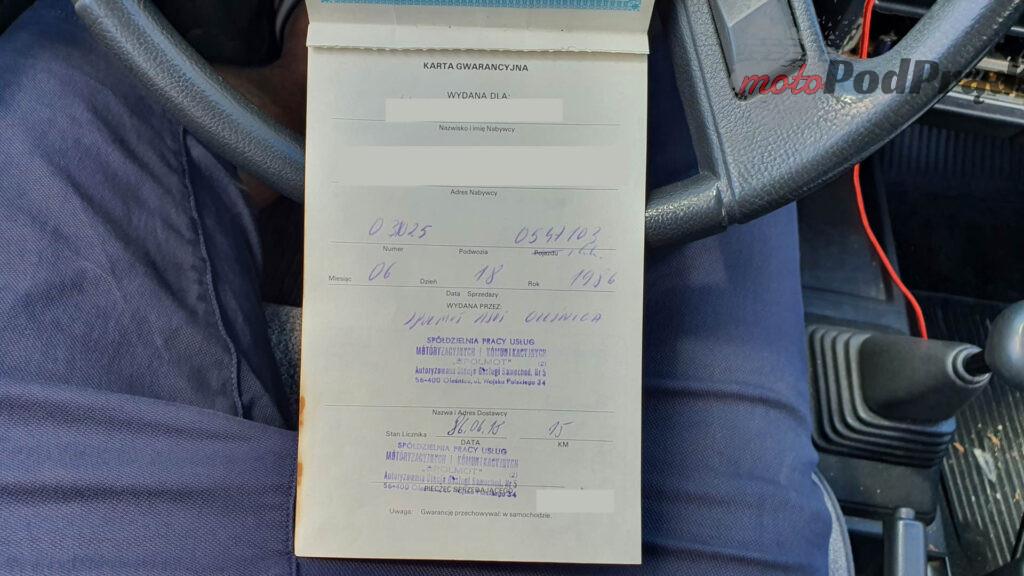 Toyota Corolla E8 13 1024x576 Kupiłem Corollę za 250 zł. Jest w zadziwiająco dobrym stanie.