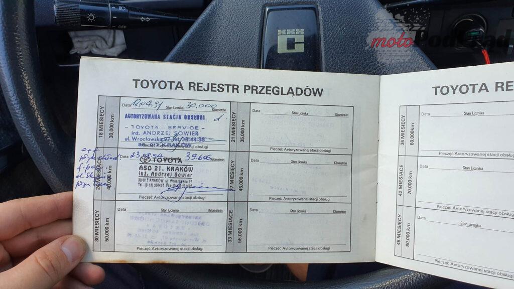 Toyota Corolla E8 15 1024x576 Kupiłem Corollę za 250 zł. Jest w zadziwiająco dobrym stanie.