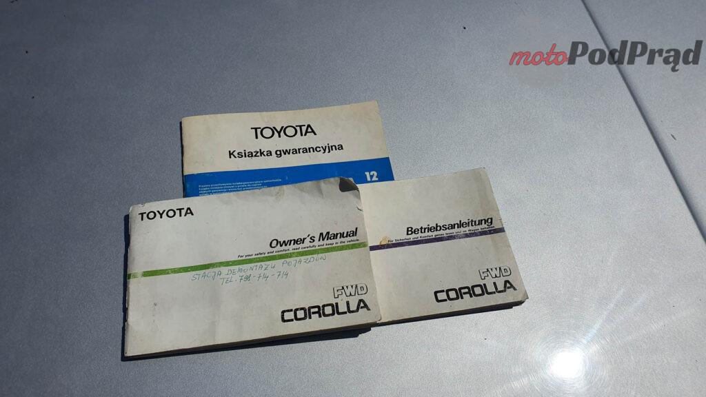 Toyota Corolla E8 3 1024x576 Kupiłem Corollę za 250 zł. Jest w zadziwiająco dobrym stanie.