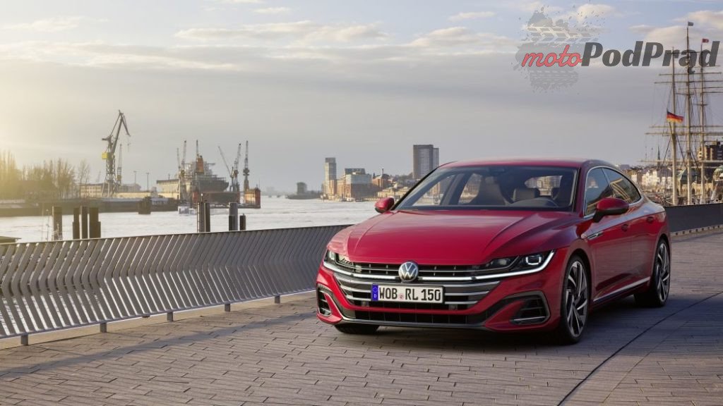 Volkswagen Arteon 2021 1024x576 Volkswagen Arteon po liftingu   będzie eHybrid, shooting brake i wersja R
