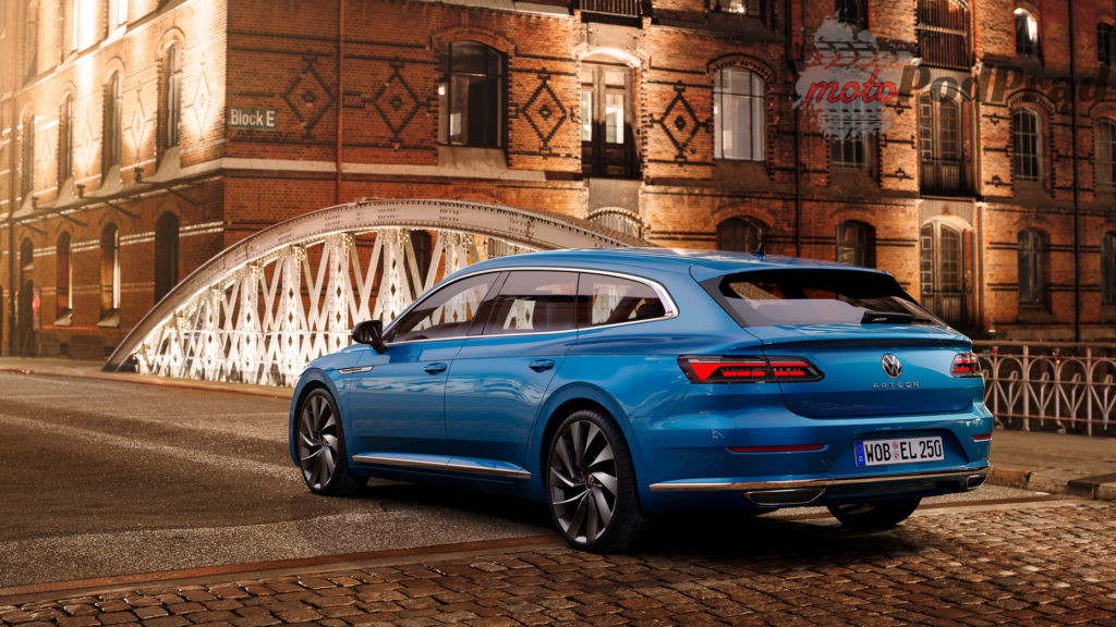 Volkswagen Arteon 2021 20 1024x576 Volkswagen Arteon po liftingu   będzie eHybrid, shooting brake i wersja R