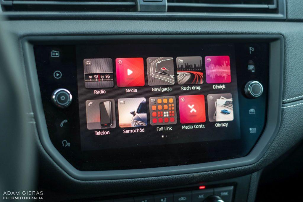 Arona tsi 10 1024x683 Test: Seat Arona 1.0 TSI DSG Xcellence   wszędobylski cwaniaczek