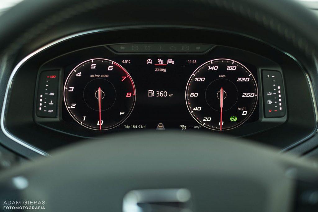 Arona tsi 11 1024x683 Test: Seat Arona 1.0 TSI DSG Xcellence   wszędobylski cwaniaczek
