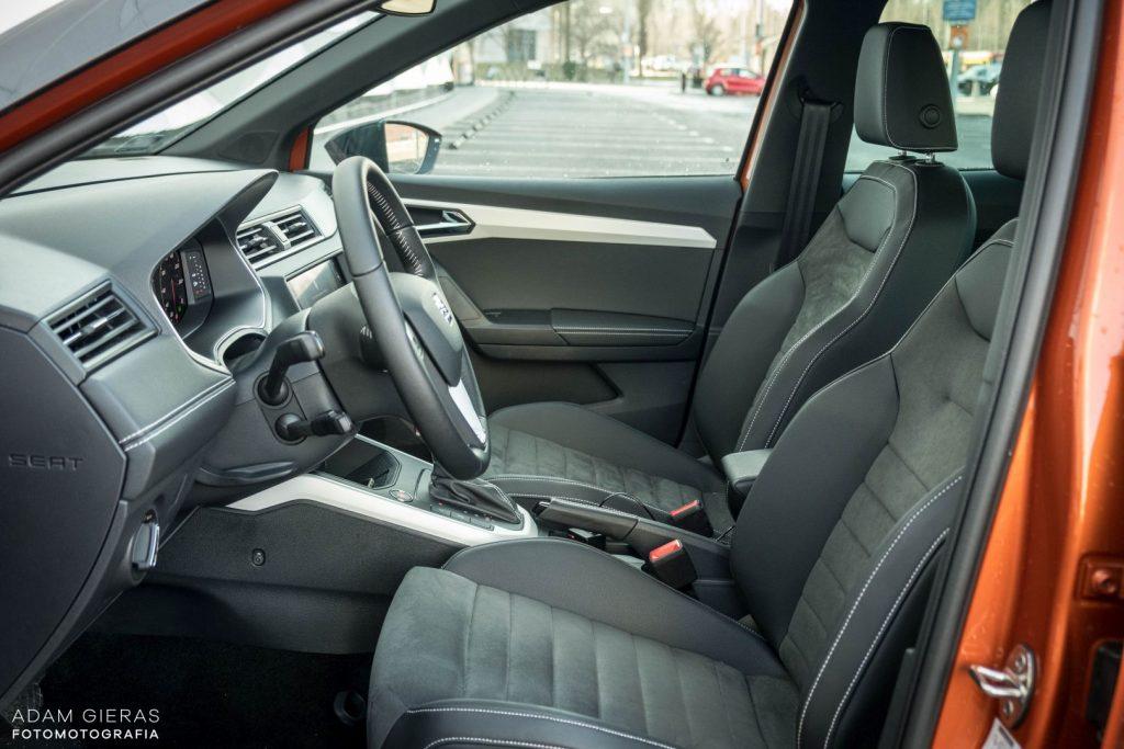 Arona tsi 15 1024x683 Test: Seat Arona 1.0 TSI DSG Xcellence   wszędobylski cwaniaczek