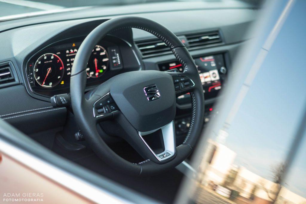 Arona tsi 8 1024x683 Test: Seat Arona 1.0 TSI DSG Xcellence   wszędobylski cwaniaczek