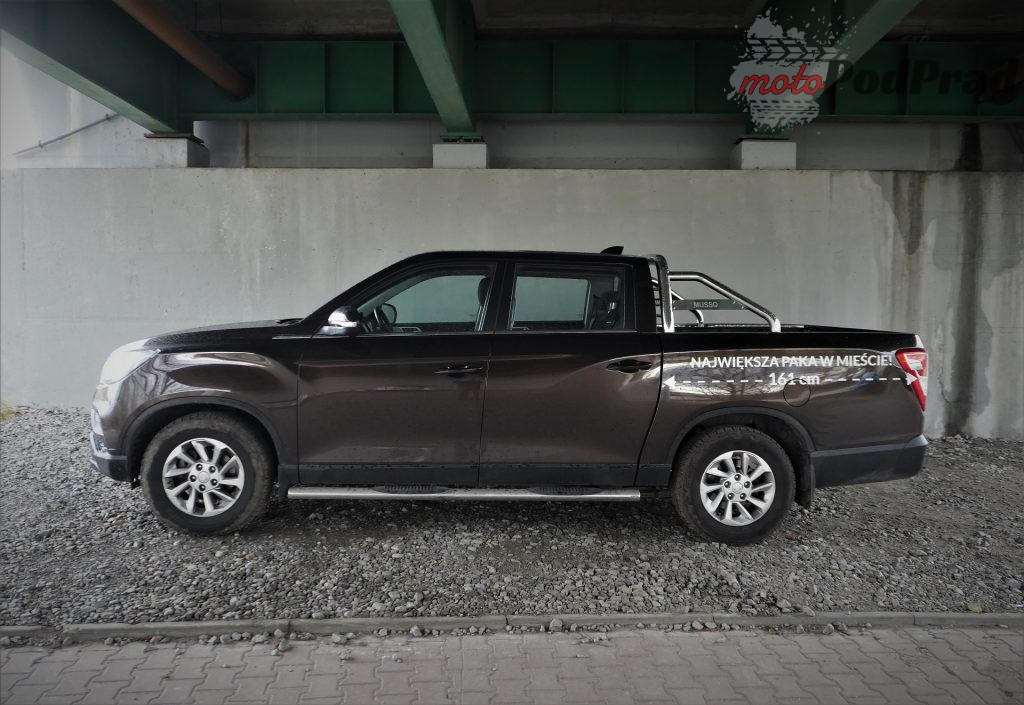 Ssangyong Musso Grand 6 1024x705 Test: Ssangyong Musso Grand   pickup z Azji