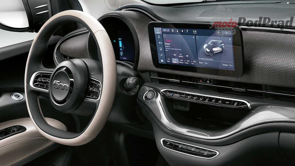 fiat 500e nuova 4 1024x576 Na rynek wejdzie nowy elektryczny Fiat 500 e