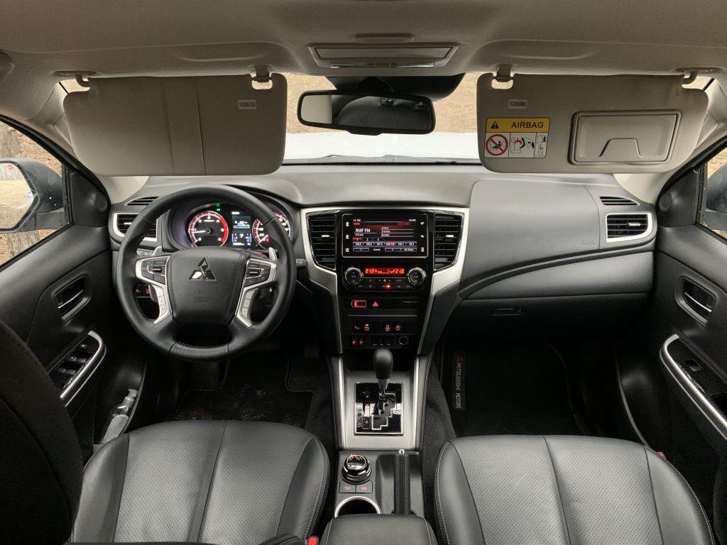 Mitsubishi L200 45 1024x768 Test: Mitsubishi L200   japoński sznyt