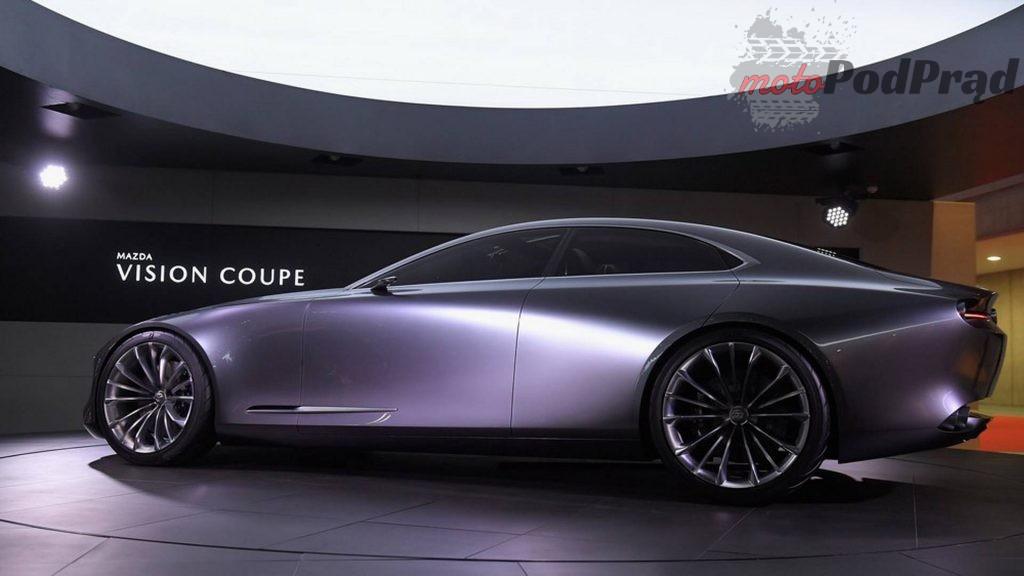 mazda vision coupe concept 1 1024x576 Nowa Mazda 6 za dwa lata. W planach silniki R6