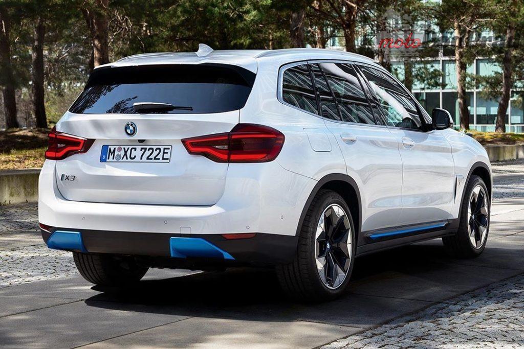 2021 BMW iX3 02 1024x683 Elektryczne BMW IX3 będzie mieć 286 KM