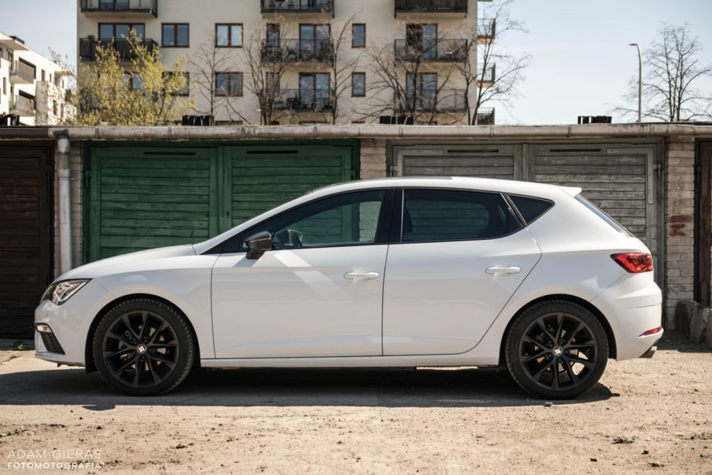 Seat Leon 1 1024x683 Test: Seat Leon III 1.5 TSI 150 KM DSG FR Black Edition   miłe pożegnanie