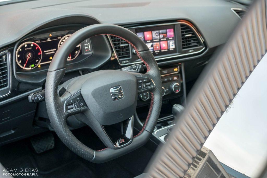 Seat Leon 8 1024x683 Test: Seat Leon III 1.5 TSI 150 KM DSG FR Black Edition   miłe pożegnanie
