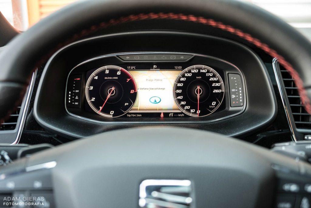 Seat Leon 9 1024x683 Test: Seat Leon III 1.5 TSI 150 KM DSG FR Black Edition   miłe pożegnanie