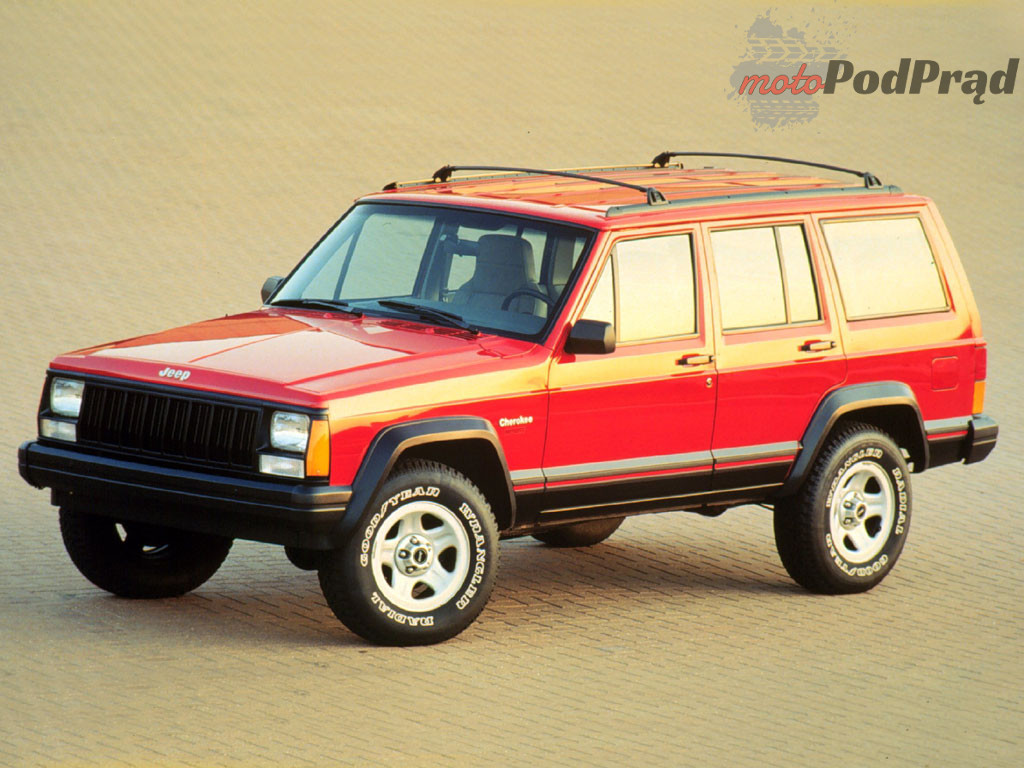 jeep cherokee sport Fura na weekend   Jeep Cherokee XJ