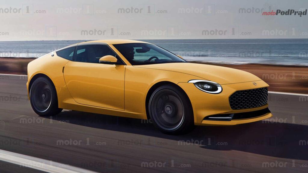 2021 nissan 400z rendering 1024x576 Nissan 400Z nie będzie hybrydą, pod maską V6TT