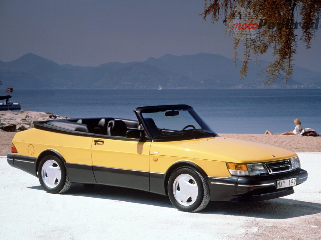 saab 900 turbo cabriolet 985 1024x768 Fura na weekend   Saab 900 I generacji