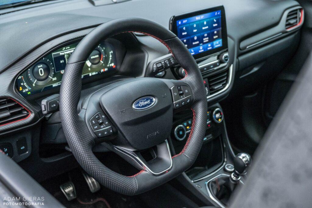 ford puma 13 1024x683 Test: Ford Puma 1.0 EcoBoost Hybrid ST Line   mistrz prowadzenia w klasie