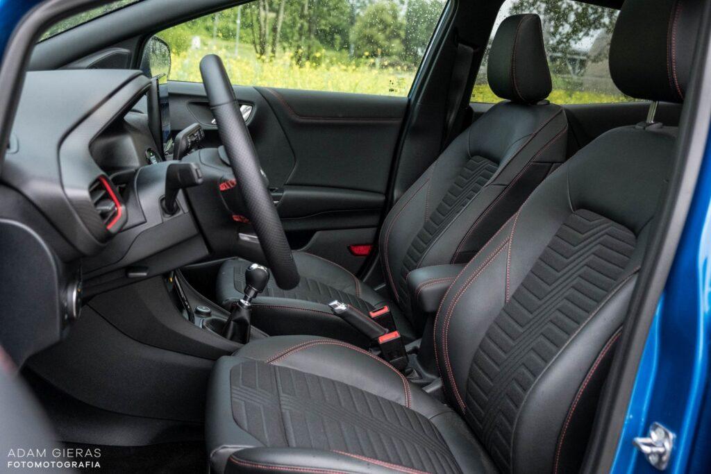 ford puma 15 1024x683 Test: Ford Puma 1.0 EcoBoost Hybrid ST Line   mistrz prowadzenia w klasie
