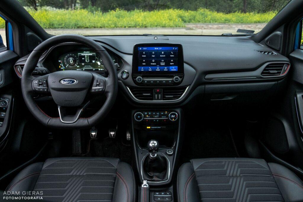 ford puma 16 1024x683 Test: Ford Puma 1.0 EcoBoost Hybrid ST Line   mistrz prowadzenia w klasie