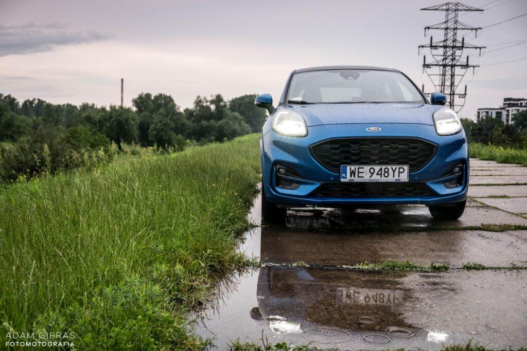 ford puma 9 1024x683 Test: Ford Puma 1.0 EcoBoost Hybrid ST Line   mistrz prowadzenia w klasie