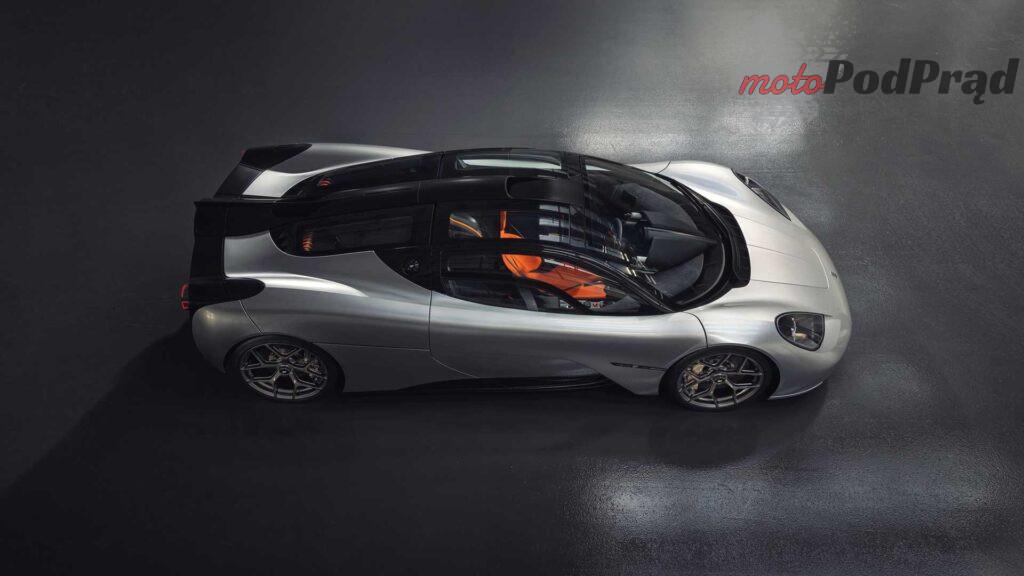 gordon murray automotive t.50 above side gray 1024x576 Gordon Murray T.50   prawdziwy następca McLarena F1