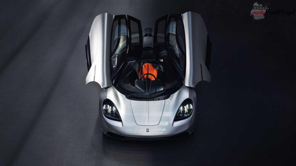gordon murray automotive t.50 front above doors open 1024x576 Gordon Murray T.50   prawdziwy następca McLarena F1