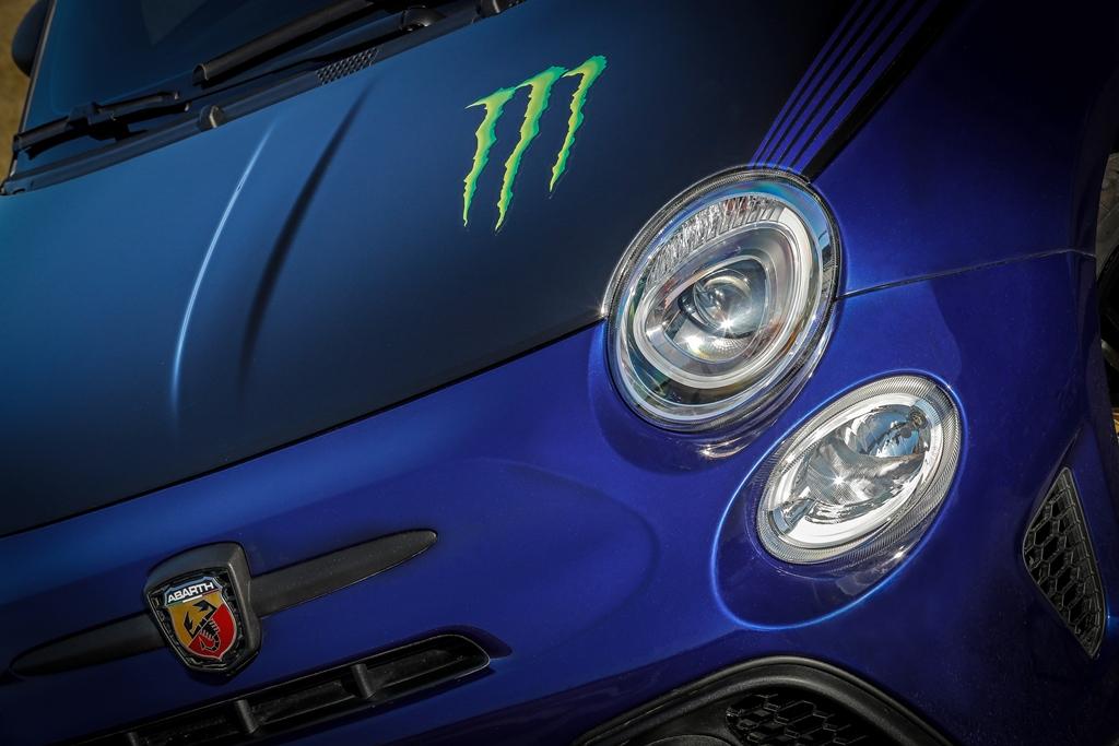 Abarth 595 Monster Energy Yamaha 2