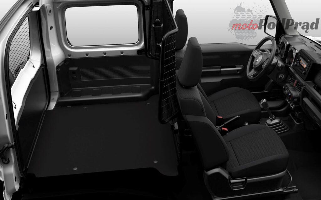 Jimny N1 2 1024x637 Suzuki Jimny powraca jako terenowy dostawczak
